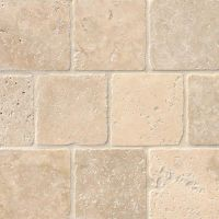 Tuscany Classic 4x4 Tumbled Tile Stone Backsplash ...