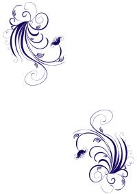 Bordes de pagina de flores | Imagenes para imprimir ...