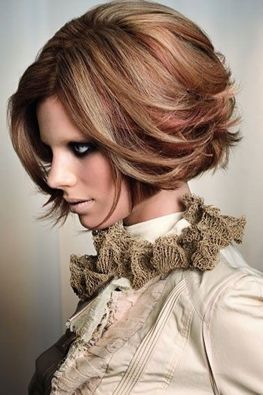 12 Short Haircuts For Fall Easy Hairstyles Mèches Couleur De