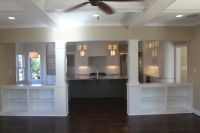 Half Wall Room Divider Ideas | Traditional Living Room by ...