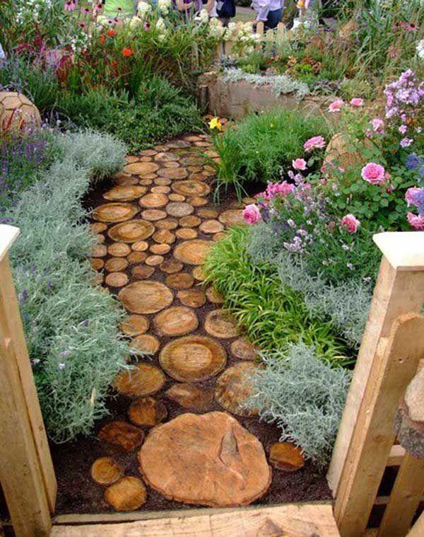 35 DIY Log Ideas Take Rustic Decor To Your Home Gardens