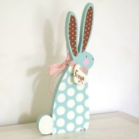 Easter Wooden Decorations - Easy Craft Ideas