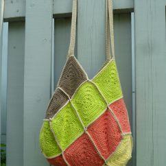 Crochet Granny Square Diagram 2002 Vw Passat Fuse Tutoriel Du  Sac 22 Carrés Au Ou