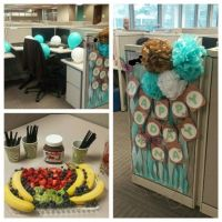birthday cubicle decoration ideas | home | Pinterest ...