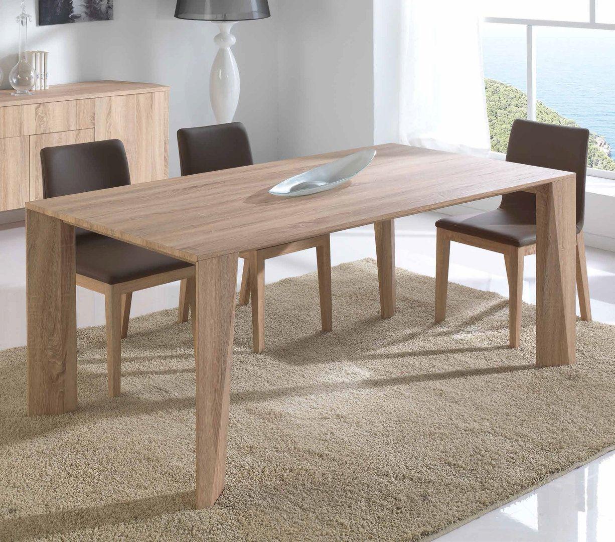 MESA DE COMEDOR MODERNA LONDON muebles interiordesign