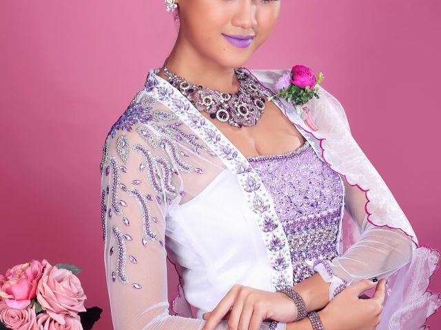 myanmar wedding dress | myanmar wedding dress | pinterest
