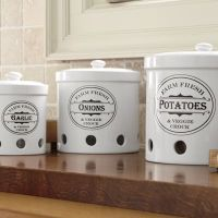 Ventilated storage containers for potatoes, onions and ...