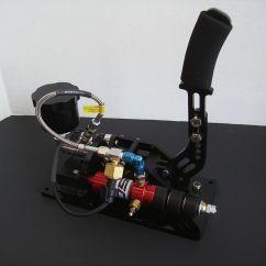 Hydraulic Racing Simulator Chair Bar Height Table And Chairs Canada Derek Speare Design Sim Handbrake