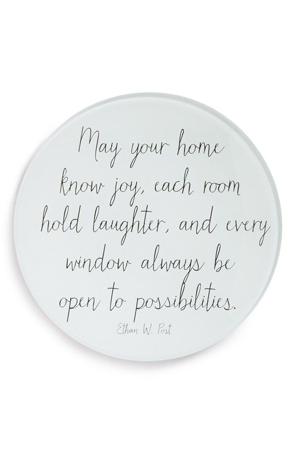 Apartment Warming Gifts For Her May Your Home Know Joy, Each Room Hold Laughter, And Every