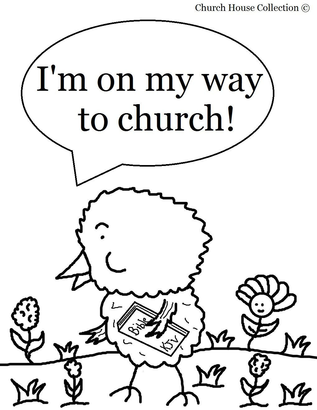 free printable coloring pages for little kids sunday