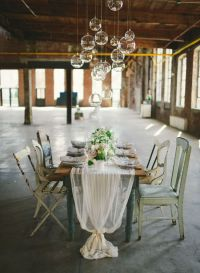 Neutral Wedding Inspiration in a Glass Factory ...