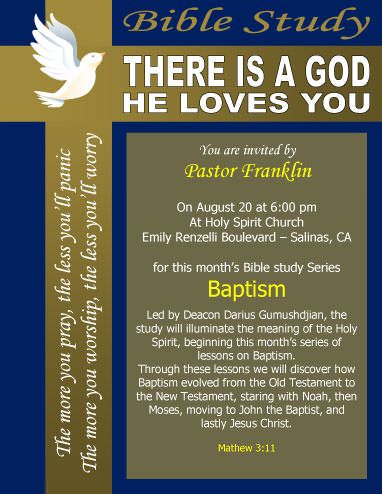 Free Church Flyer Templates Microsoft Word Free Download