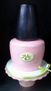 nail polish cake crazy cakes