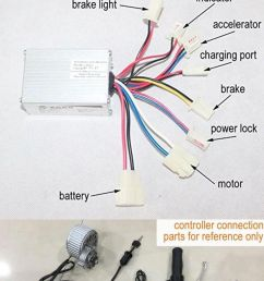 9cb80219f9d0f2c4e4c59bb2df6f9e9f 24v 250w motor brush speed controller for electric bike bicycle 24 volt scooter wire diagram [ 736 x 1912 Pixel ]