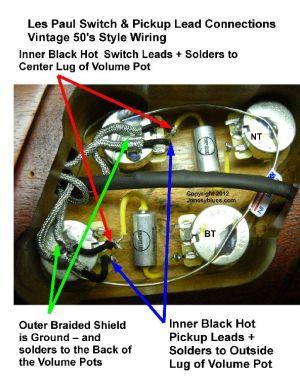 Jonesyblues Les Paul Wiring Tips & DIY Videos   Like