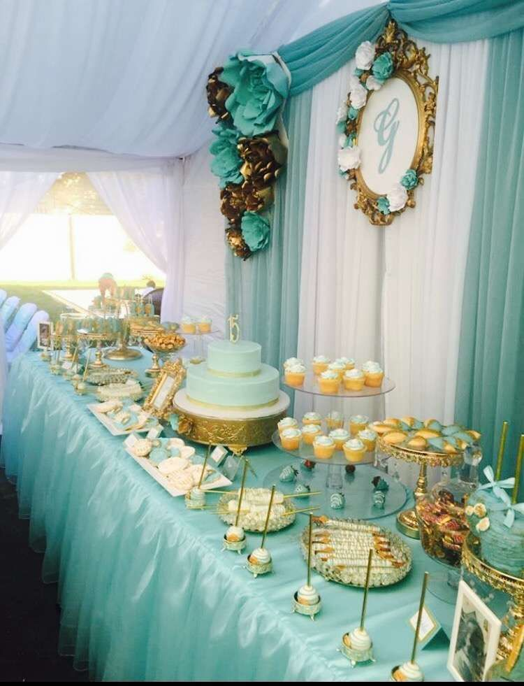 Tiffany Blue Baby Shower Supplies