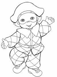 disegni per carnevale per bambini   Lavoretti di Carnevale ...