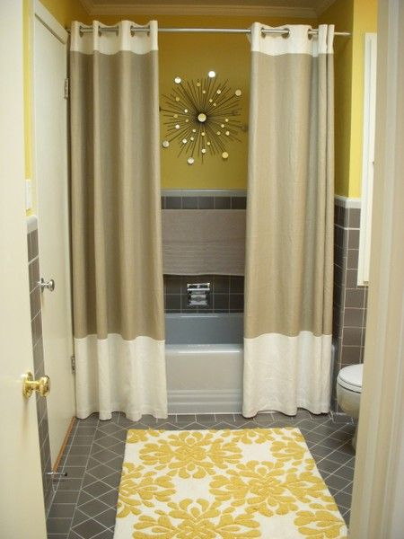 Two Shower Curtains Instead Of One Two Shower Curtains Double