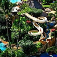 "Want this :O RT ""Dream Home: Crazy waterslide park in your ..."