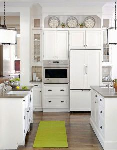 ideas for decorating above kitchen cabinets not sure what to do with that awkward also rh pinterest
