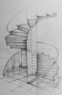 Architectural Design - Spiral Staircase | Art | Pinterest ...