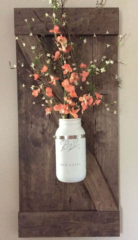 diy wall decoration ideas also jar walls and furniture rh pinterest