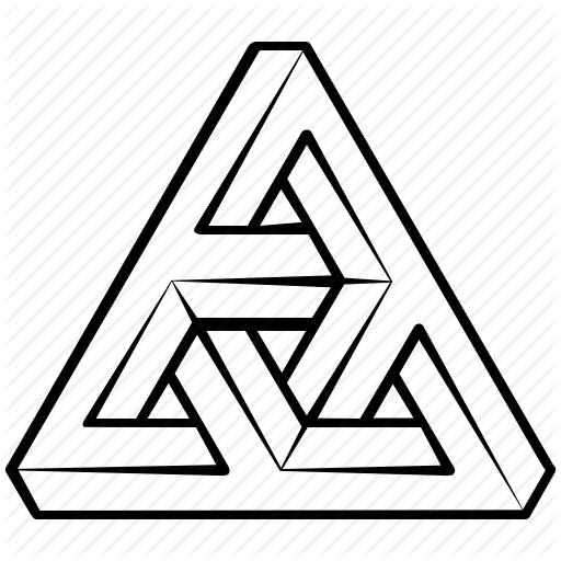 Impossible Triangle Icons