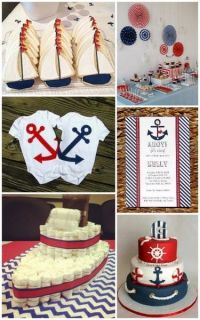 Nautical Baby Shower Ideas from HotRef.com # ...