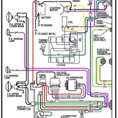 6 Pin Square Trailer Wiring Diagram Sony Cdx Gt23w 65 Chevy Truck - Google Search | Auto Pinterest