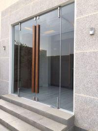 Frameless Glass Entry Doors Residential. Modern Glass ...