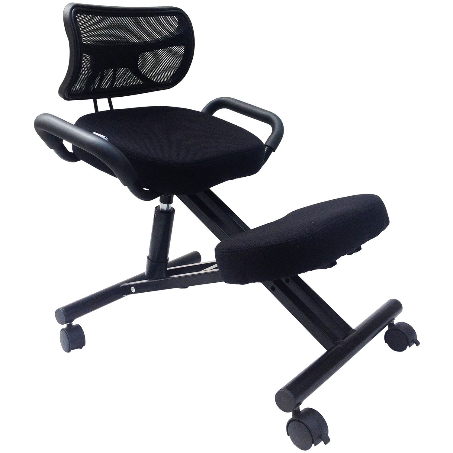 ergonomic posture kneeling chair gaming for ps4 sierra comfort sc 300 with back