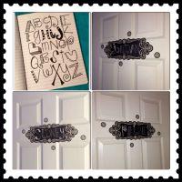 Bedroom door signs | room ideas for my girls | Pinterest ...