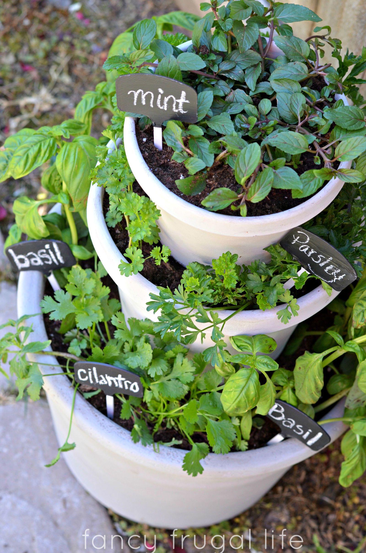 Stacking Planters Container Gardening Plantstand Savvy Urbanite Farmer