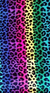 Colorful leopard   Zebra & Lepord   Pinterest   Leopards ...