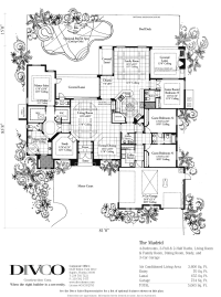 Luxury Home Floor Plans - Madrid Floorplan - Floorplan of ...