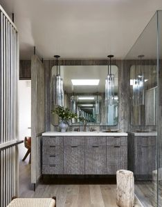 Like  modernist sand castle this malibu house by jamie bush is master class in monochromatic also seafront retreat decor kitchens  bathrooms rh pinterest
