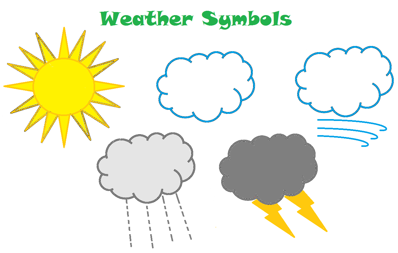 Weather Forecast Worksheets For Kids