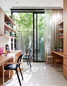 Oban house is  modern property with natural and organic material pallet by building company agushi  workroom design in south yarra melbourne australia also see how one small contemporary can truly break monotony rh za pinterest