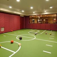15 Ideas for Indoor Home Basketball Courts | Basements ...
