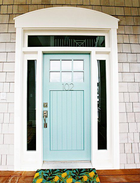25 Amazing Beach Style Entryway Decor Ideas Painted Front Doors