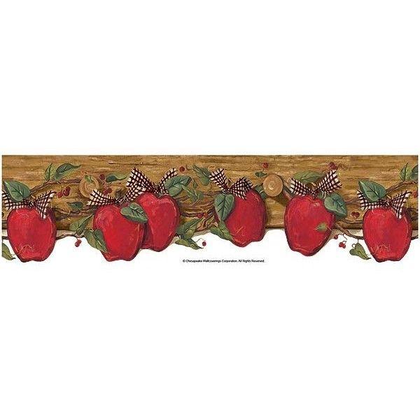 wall paper borders for kitchens black kitchen faucets apples on coat wallpaper border | bordür pinterest ...