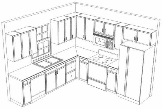 Cheap L Shaped Kitchens
