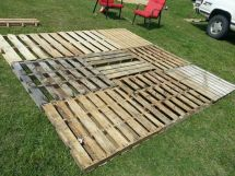 Pallet Patio Part 2.squaring And Level