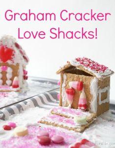 Build  graham cracker love shack valentine ideasvalentine partyvalentines foodvalentine tsgraham crackersgingerbread houseshappy kidsthe also gingerbread tasty and rh za pinterest