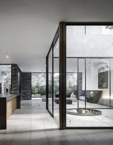 architectureinternal visualization of the internal courtyard and interiors for  two home also  rh pinterest