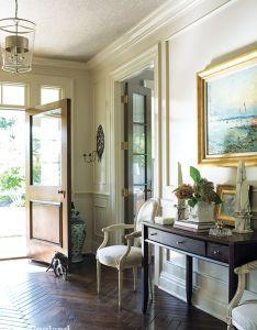 House jane green new england homesherringbone also entryways pinterest entry hall and high gloss rh