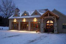 Timber Frame Home Exteriors Energy