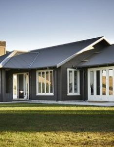 Weekend dreaming for your monday this black barn retreat in hawke   bay by nz architectural designer andy coltart also dsc eg gladstone exterior pinterest river lodge rh