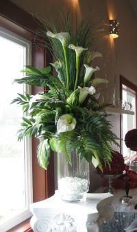cylinder vase arrangements | Flower Arrangement in Tall ...