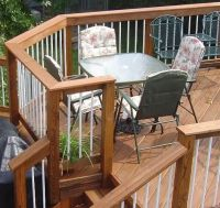 Railings, Lighting, Pergolas & Seating for Decks